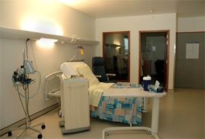 une des chambres de l'unité Kangourou