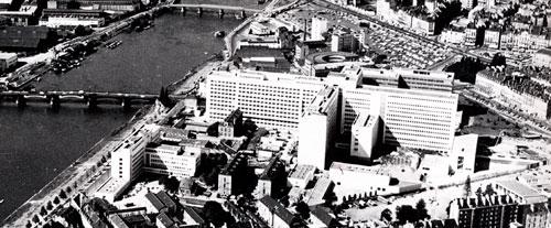 l'hôtel-Dieu en 1967