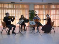 quatuor à Pirmil pour la Folle Journée