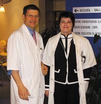 Pr Philippe Damier et Dr Sylvie Raoul