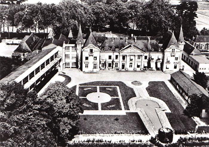 La Droitière, ancien établissement du CHU, vue aérienne