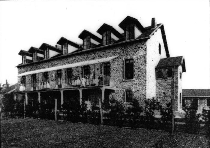 l'ancien hôpital Laënnec à Chantenay