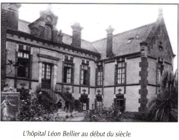 l'hôpital Bellier au début du XXe siècle