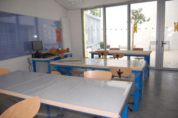 CATTP Blanchart, salle d'activités arts plastiques