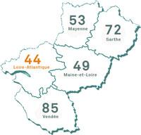 Pays de la Loire - Loire-Atlantique