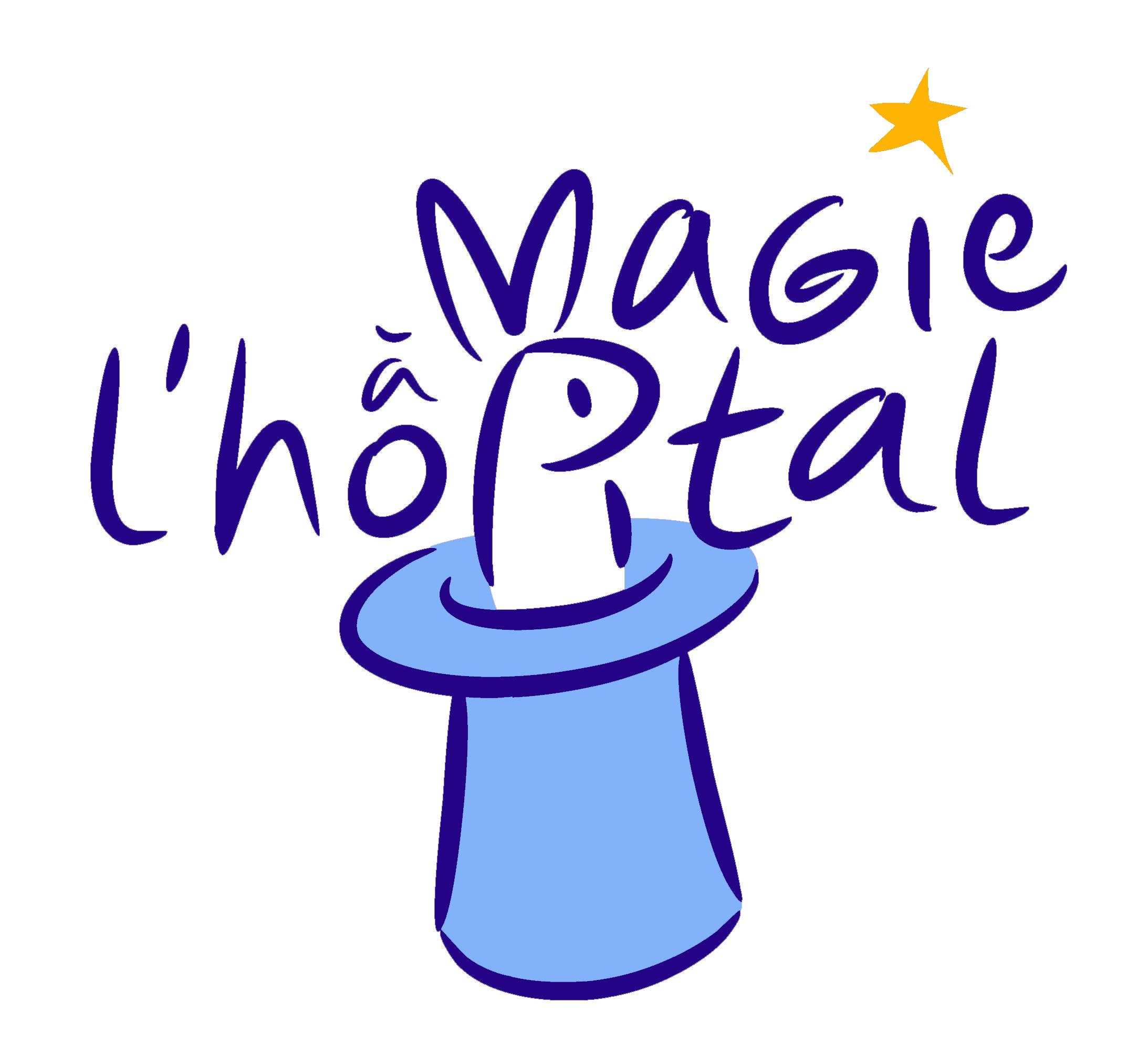 logo magie à l'hôpital