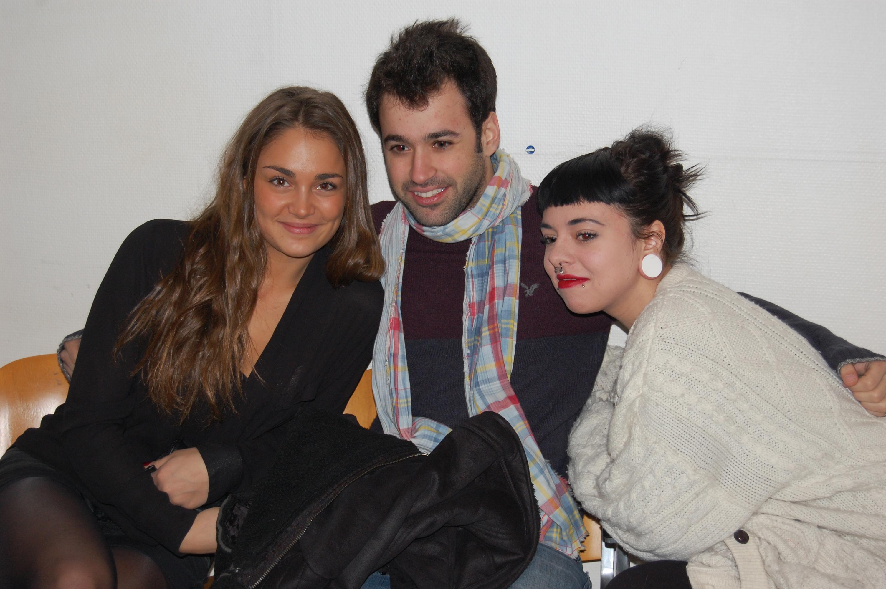 de gauche à droite : Laura Chab', Anthony Touma et Cécilia Pascal