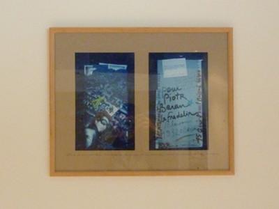 exposition permanente d'art postal, don de l'association Artéchéri au CHU de Nantes - visible au 4e étage aile nord de l'hôtel-Dieu