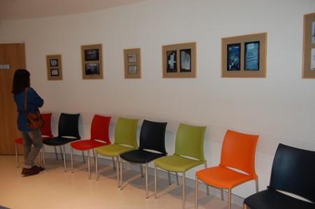 L'exposition permanente d'art postal, don de l'association Artéchéri au CHU de Nantes - visible au 4e étage aile nord de l'hôtel-Dieu